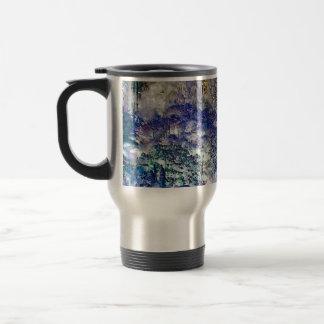 Fantasy Trees Abstract Landscape Travel Mug