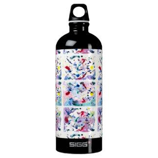 Fantasy Triptych Aluminum Water Bottle