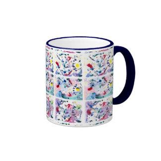 Fantasy Triptych Ringer Mug
