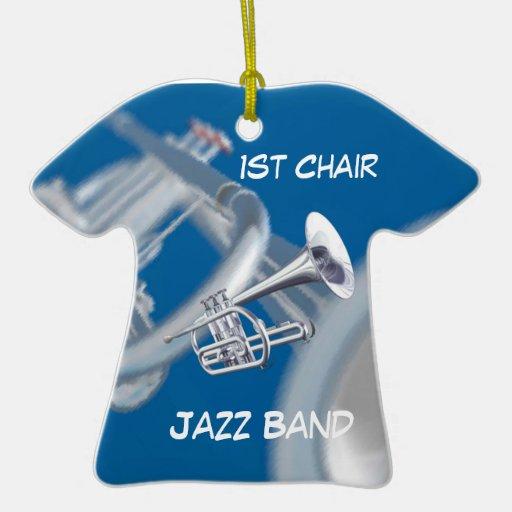Fantasy Trumpet Music Jazz Ornament