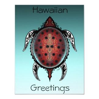 Fantasy Turtle Tattoo Card