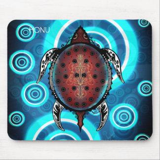 Fantasy Turtle Tattoo Mouse Pad