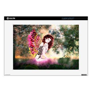 "Fantasy Twilight Fairy 15"" Laptop Skin"