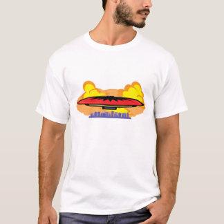 Fantasy UFO Flight Over the City T-Shirt