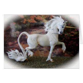 Fantasy Unicorn Card