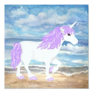 Fantasy Unicorn Invitation - SRF