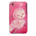 Fantasy Valentine Love Bird iPhone 3 Case