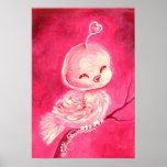 Fantasy Valentine Love Bird Print