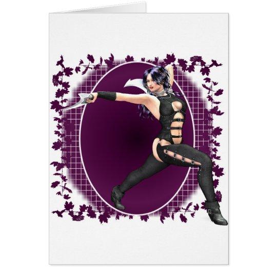 Fantasy Warrior 01 Card