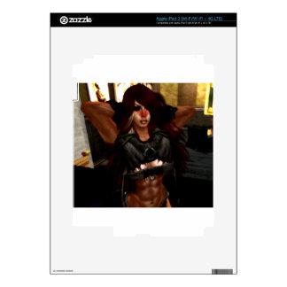 fantasy warrior iPad 3 skin