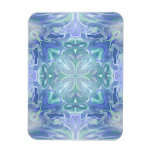 Fantasy Water Ripples Rectangle Magnet