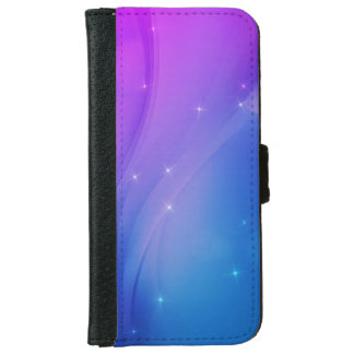 Fantasy Wave Wallet Phone Case For iPhone 6/6s