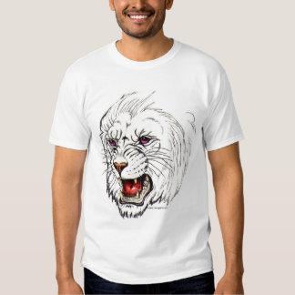 Fantasy White Lion T-shirt
