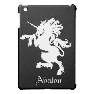 Fantasy White Wild Unicorn Horse  iPad Mini Cover