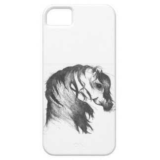 Fantasy wind blown horse iPhone SE/5/5s case