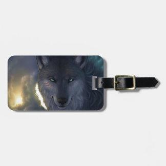 Fantasy Wolf Bag Tag