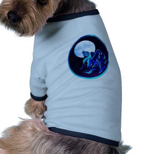Fantasy Wolf framed Pet Clothing