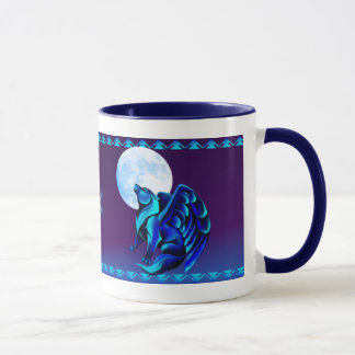 Fantasy Wolf Mug