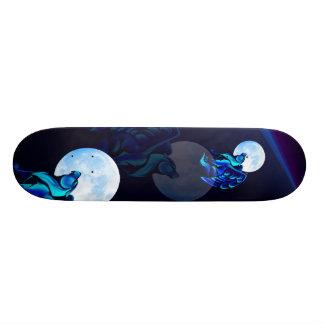 Fantasy Wolf Skateboard