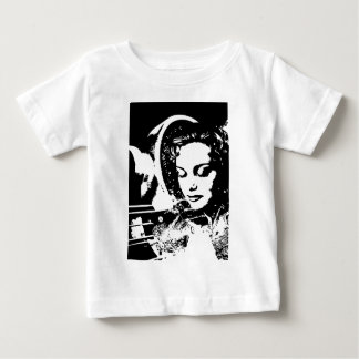 fantasy woman dream girl pinup infant t-shirt