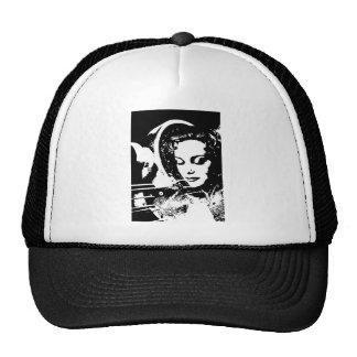 fantasy woman dream girl pinup trucker hat