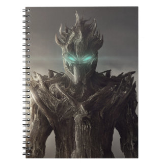 Fantasy Wood Suit Notebook