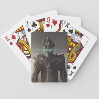 Fantasy Wood Suit Playing Cards