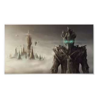 Fantasy Wood World Mini Poster