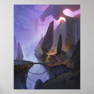 Fantasy World 11x14 poster