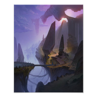 Fantasy World 11x14 poster