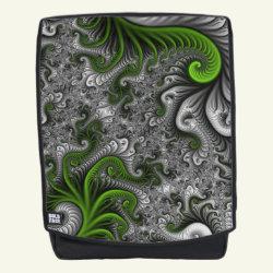 Fantasy World Abstract Fractal Art Backpack