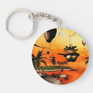 Fantasy world keychain