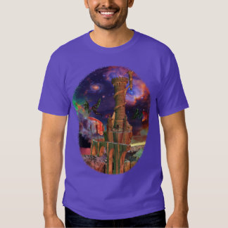 Fantasy Worlds Science Fiction Dragon Fight Shirt