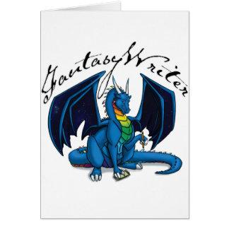 Fantasy Writer Greeting Card
