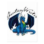Fantasy Writer Post Card