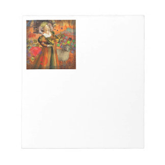 Fantasy Zodiac Aries Gothic Whimsical Funny Notepad