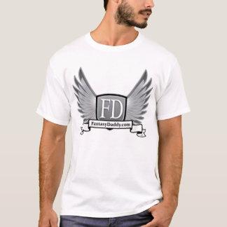 FantasyDaddy.com Melange Ringer T-Shirt