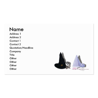FantasyGoodEvilCard, Name, Address 1, Address 2... Business Card