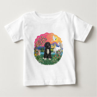 FantasyLand-- Portuguese Water Dog Baby T-Shirt