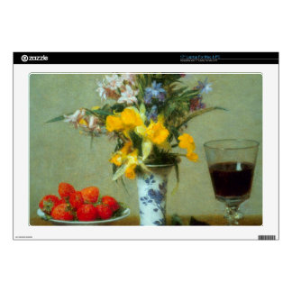 """Fantin-Latour Henri - Still Life Skins For 17"""" Laptops"""