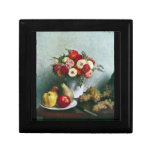 Fantin-Latour Henri - Still-life with flowers and Gift Boxes