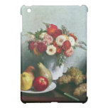 Fantin-Latour Henri - Still-life with flowers and iPad Mini Cases