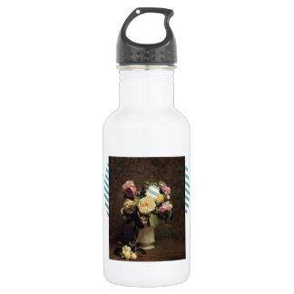 Fantin-Latour-Rosas de Enrique en un florero