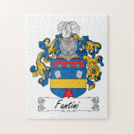 Fantini Family Crest Jigsaw Puzzles