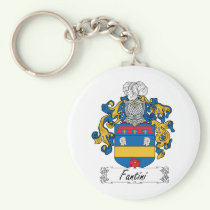 Fantini Family Crest Keychain