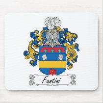 Fantini Family Crest Mousepad