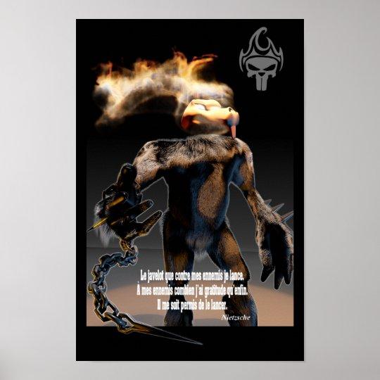 Fantom n Nietzsche Poster