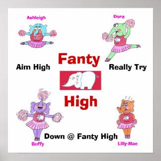 Fanty High School Poster