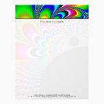 Fanyc - Mandelbrot Fractal Art Letterhead