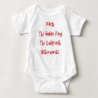 FAO: El Goblin KingThe LabyrinthOtherworlds Tee Shirt
